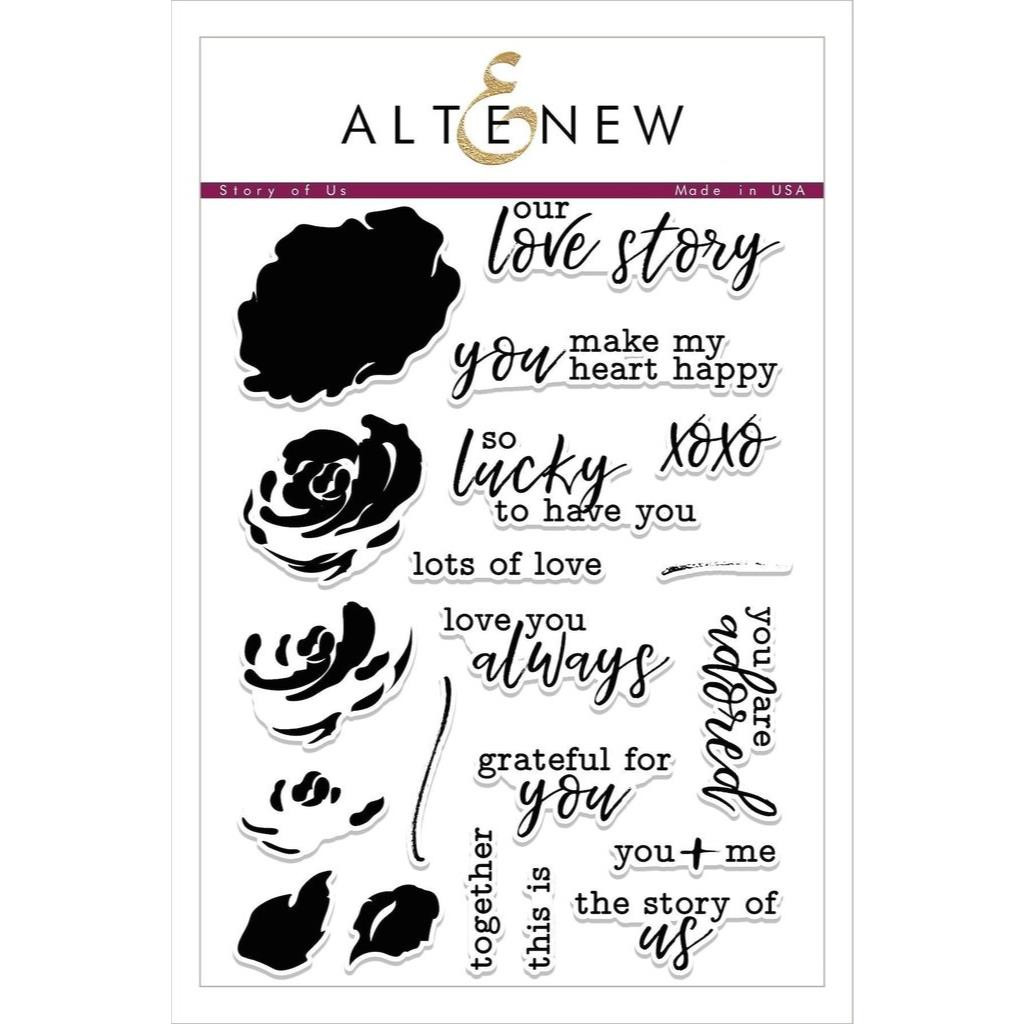 Altenew Clear Stamps, Story Of Us - 655646164175