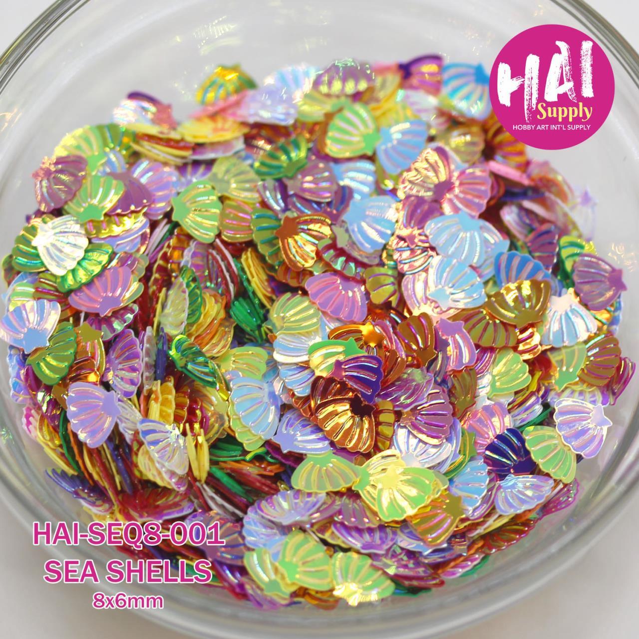 Sea Shells, HAI Sequins -