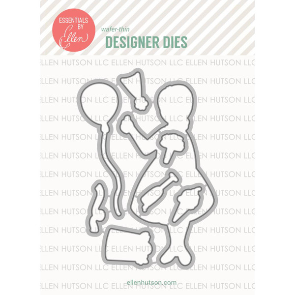 Essentials by Ellen Designer Dies, Leading Ladies - Celebration Lady By Brandi Kincaid -