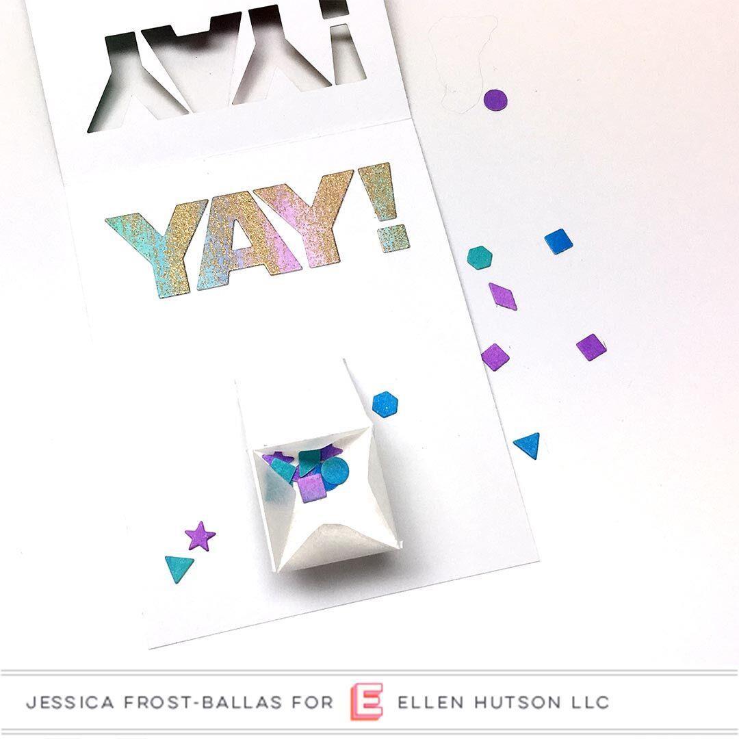 Confetti Flinger By Julie Ebersole, Essentials by Ellen Designer Dies -