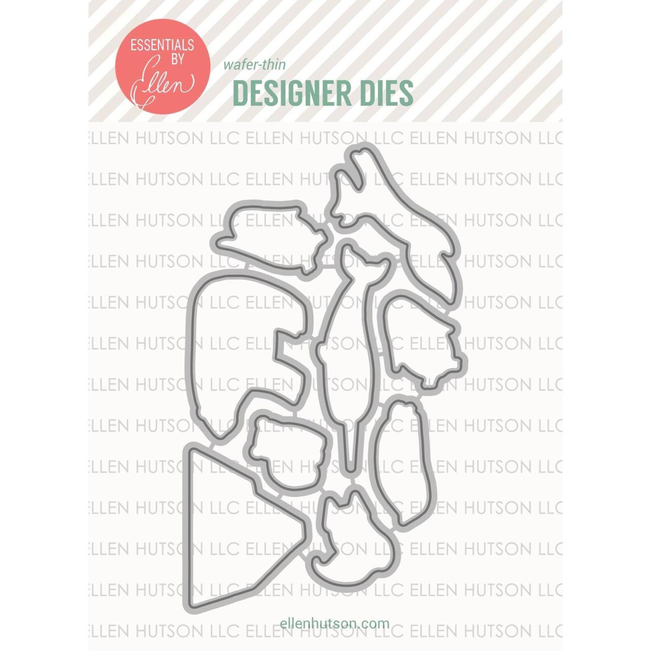 Essentials By Ellen Designer Dies, Arctic Pals by Julie Ebersole -
