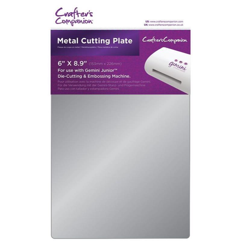 Crafter's Companion Gemini Junior Metal Cutting Plate - 709650833876