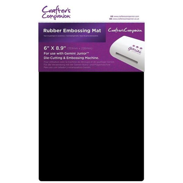 Crafter's Companion Gemini Junior Rubber Embossing Mat - 709650833906
