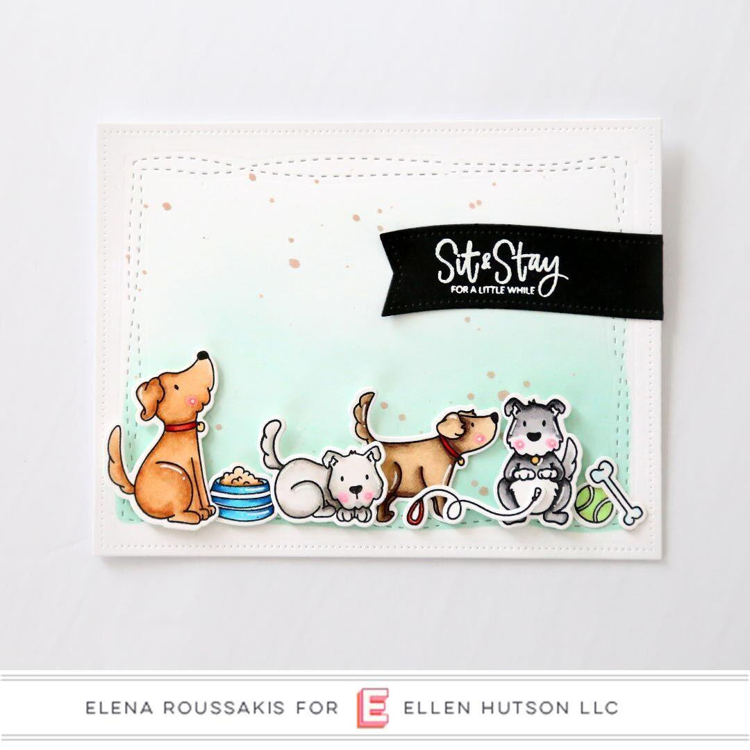 Essentials by Ellen Clear Stamps, Leading Ladies - Dog Lady by Brandi Kincaid -