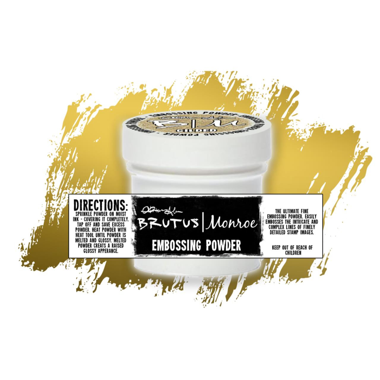 Gilded, Brutus Monroe Metallic Embossing Powder - 027829652487