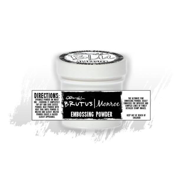 Alabaster, Brutus Monroe Ultra Fine Embossing Powder - 027829652470
