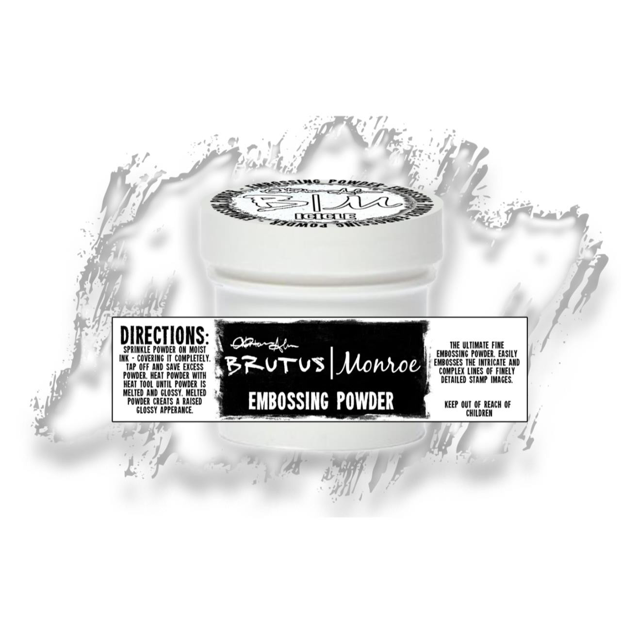 Brutus Monroe Ultra Fine Embossing Powder, Icicle -