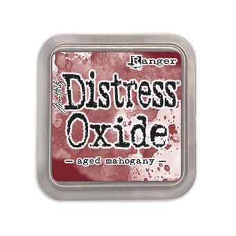 Ranger Distress Oxide Ink Pad, Aged Mahogany -