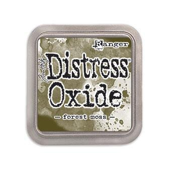 Ranger Distress Oxide Ink Pad, Forest Moss -