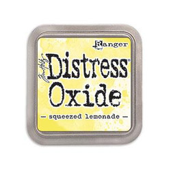 Ranger Distress Oxide Ink Pad, Squeezed Lemonade -