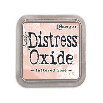 Ranger Distress Oxide Ink Pad, Tattered Rose -