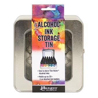 Ranger Tim Holtz Alcohol Ink Storage Tin -