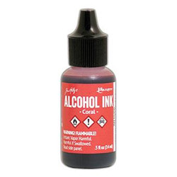 Ranger Tim Holtz Alcohol Ink, Coral -