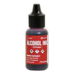 Ranger Tim Holtz Alcohol Ink, Crimson -