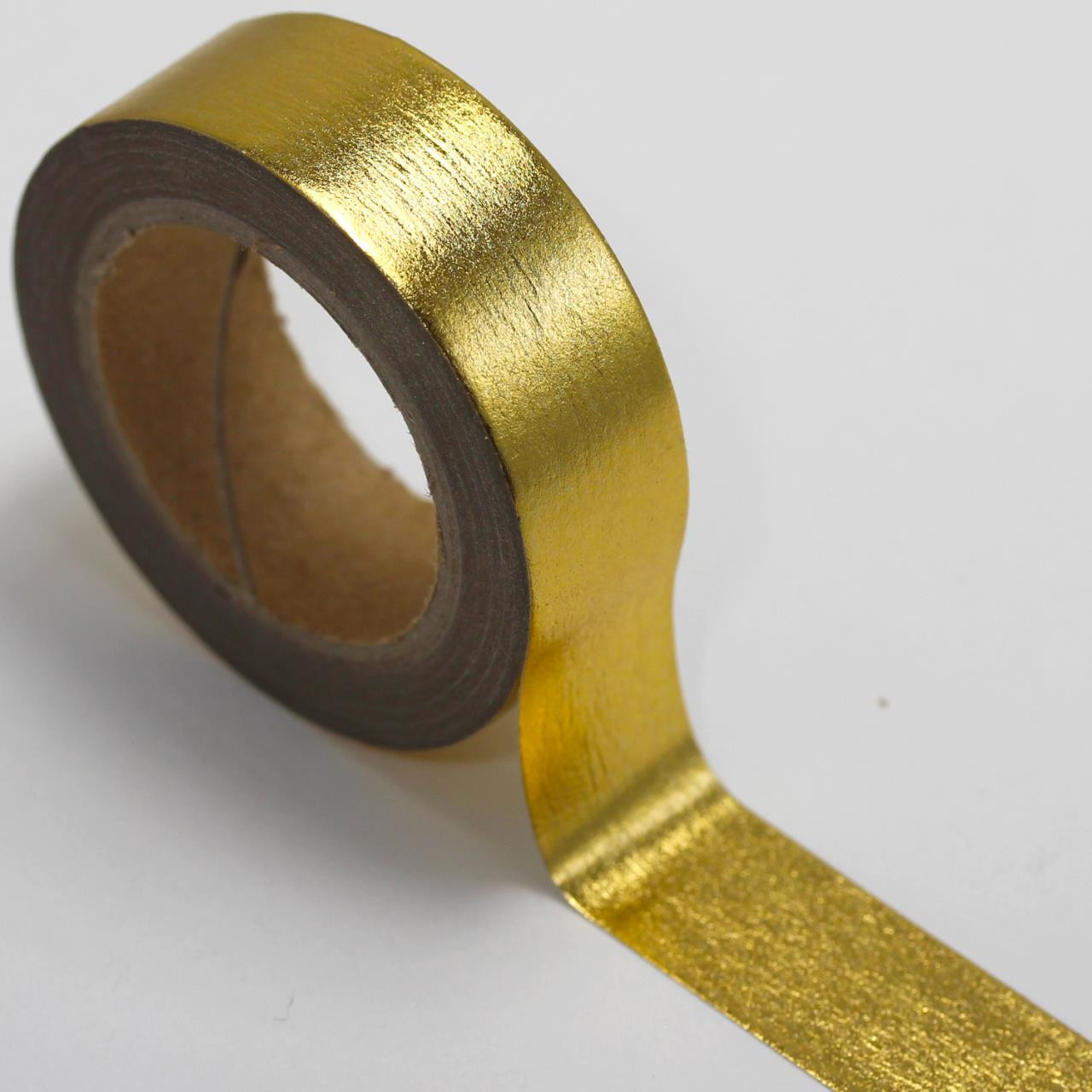 Washi Tape Gold Foil /& Black Stripes Metallic 15mm x 10m