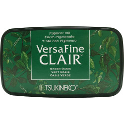 VersaFine Clair Ink Pad, Green Oasis -