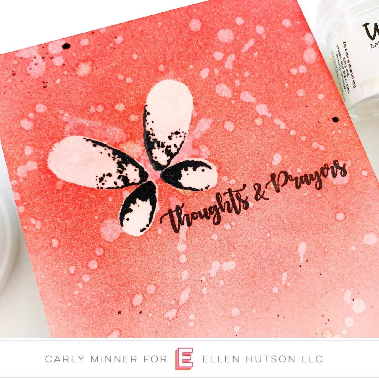 Faithful Flutterings, Catherine Pooler Clear Stamps - 819447020867