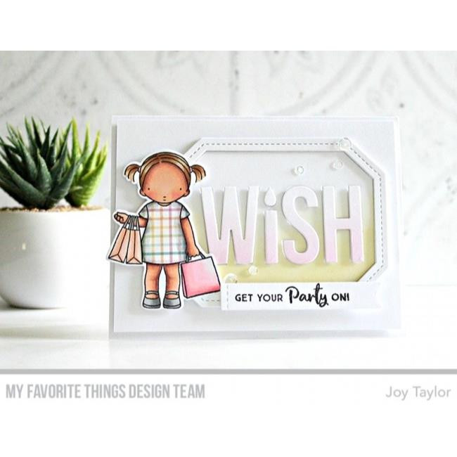 My Favorite Things Clear Stamps, Anything-but-Basic Birthday Wishes - 849923023860