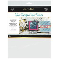 Icraft Deco Foil Clear Designer Toner Sheets, Printable - 000943055112