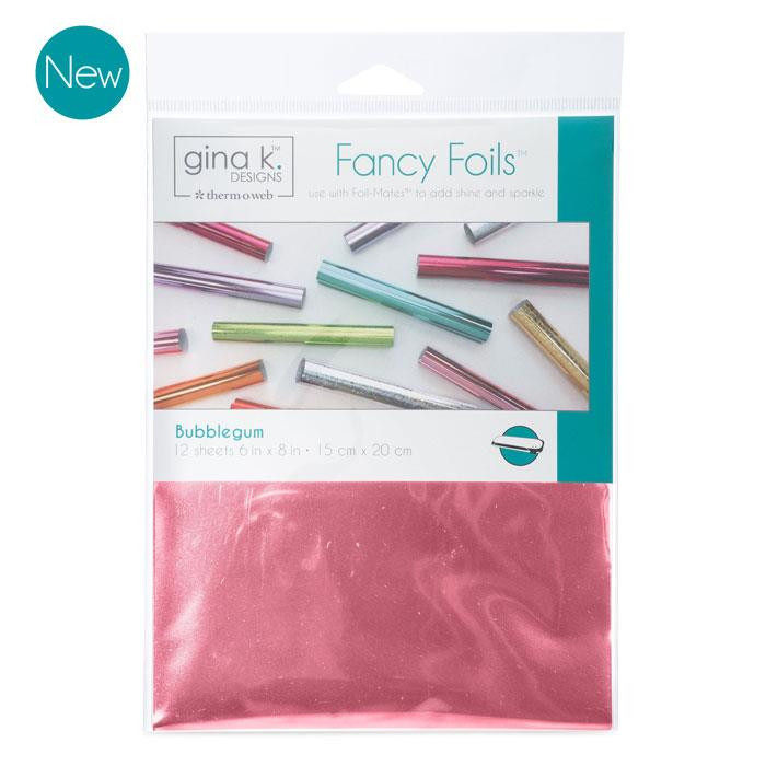 Gina K Designs Fancy Foils, Bubblegum - 000943180685