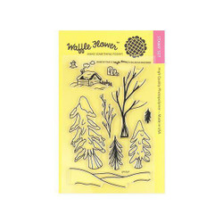 Waffle Flower Clear Stamps, Winter Time - 653341223739