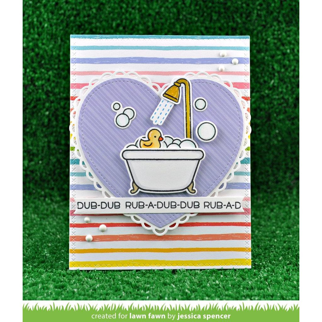 Lawn Fawn Petite Paper Pack, Really Rainbow - 035292670082