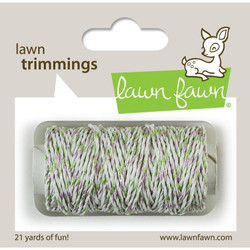 Lawn Fawn Hemp Cord, Meadow Sparkle - 035292669321