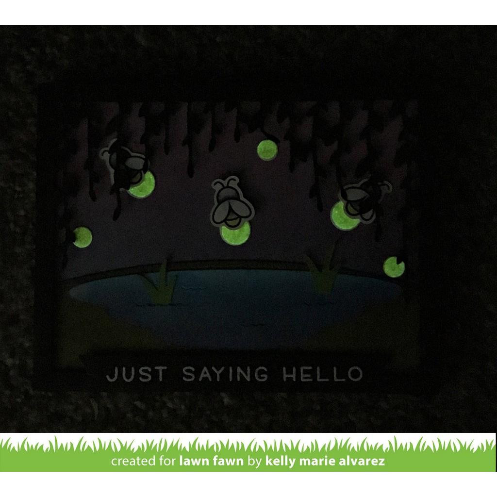 Glow In The Dark, Lawn Fawn Embossing Powder - 035292669314