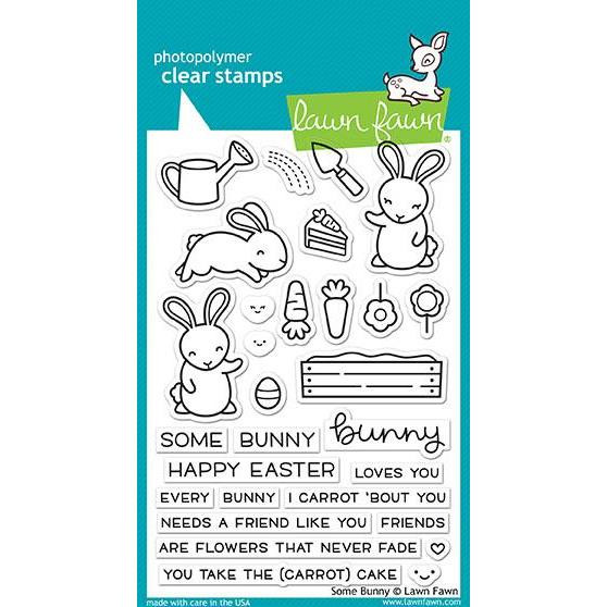 Lawn Fawn Clear Stamps, Some Bunny - 035292669406
