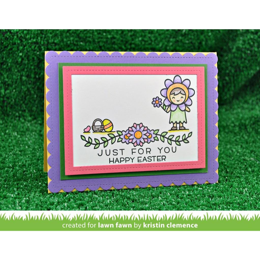 Lawn Fawn Clear Stamps, Simply Celebrate - 035292669529