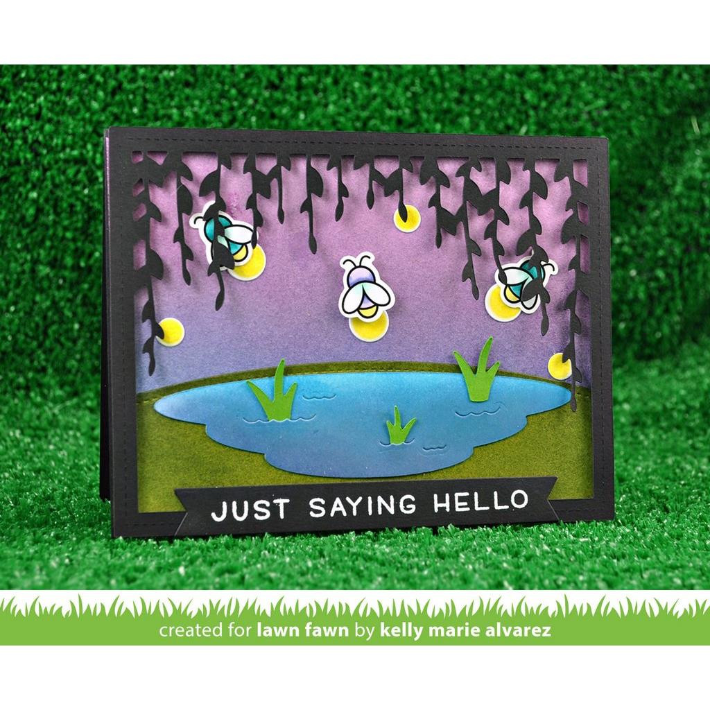 Lawn Fawn Clear Stamps, Little Fireflies - 035292669468