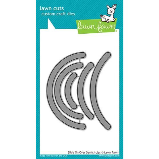 Lawn Cuts Dies, Slide On Over Semicircles - 035292669666