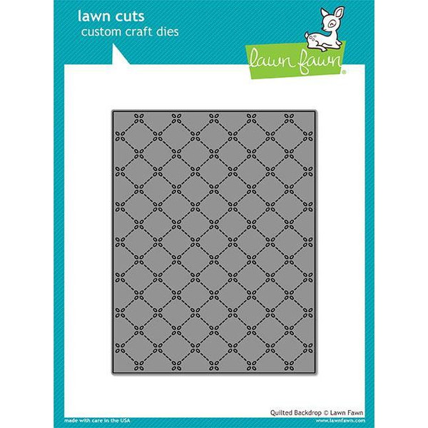 Lawn Cuts Dies, Quilted Backdrop - 035292669789