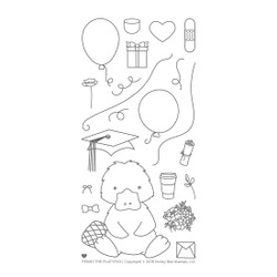 Penny the Platypus, Honey Bee Clear Stamps - 652827597753