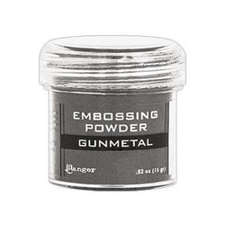 Ranger Embossing Powder, Gunmetal Metallic -