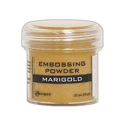Ranger Embossing Powder, Marigold Metallic - 789541060376