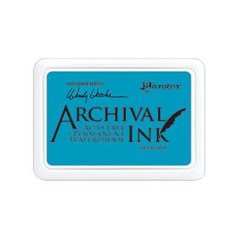 Ranger Archival Ink Pad, Bluebird by Wendy Vecchi -