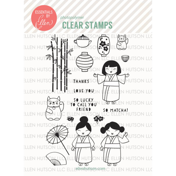 Essentials by Ellen Clear Stamps, So Matcha by Julie Ebersole -