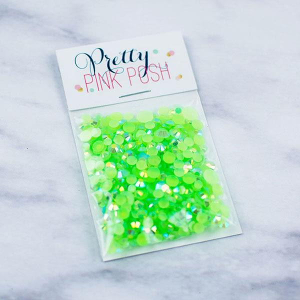 Pretty Pink Posh Jewels, Spring Green -