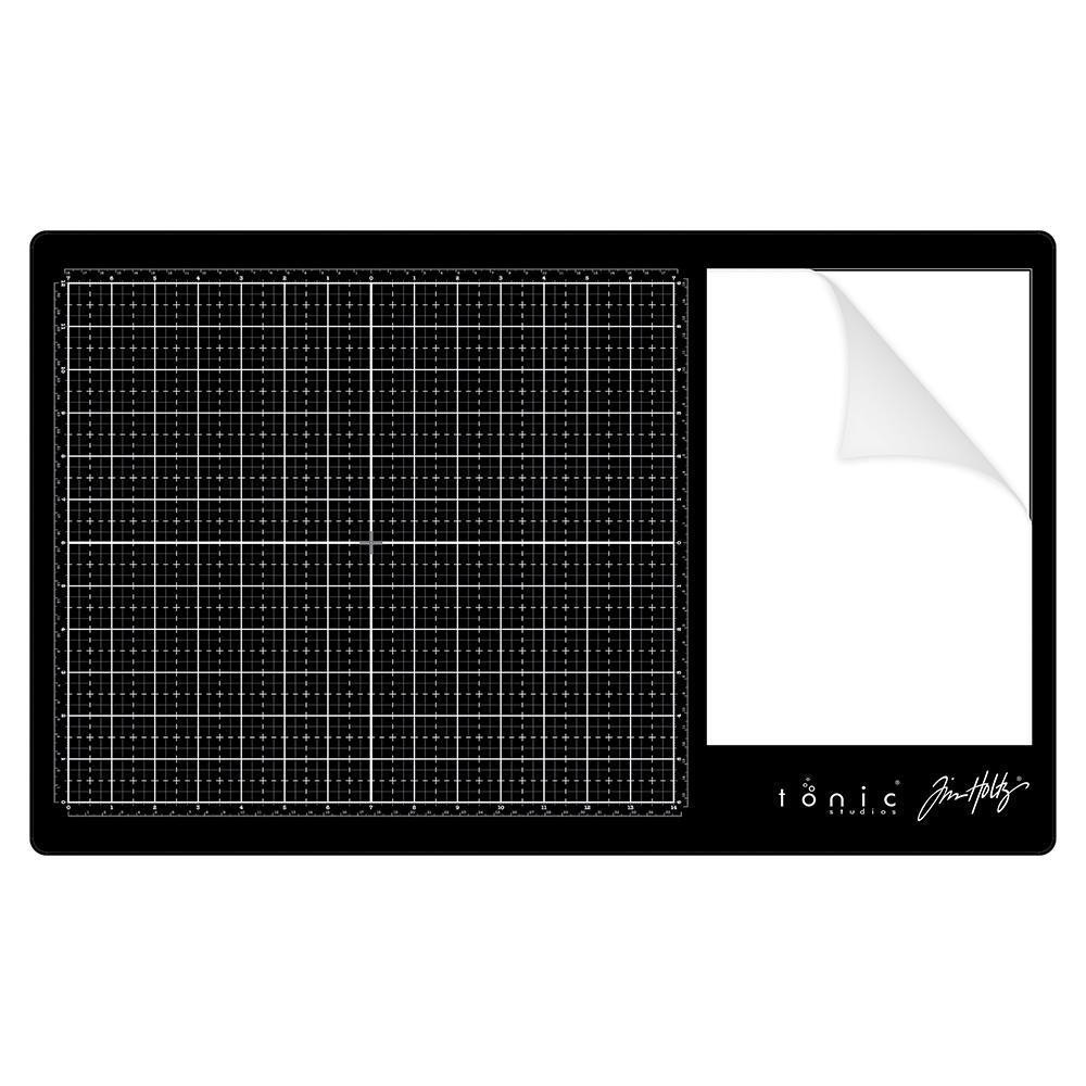 Tonic Glass Media Mat by Tim Holtz - 841079119145