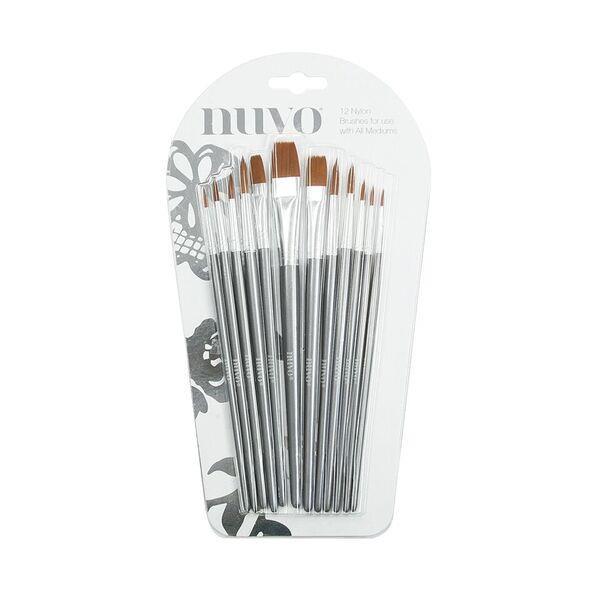Tonic Nuvo Nylon Brushes -