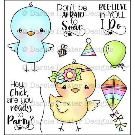 Darcie's Clear Stamps, Soar -