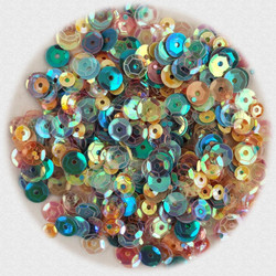 Buttons Galore Sequin Party Mix, Soft Colors -