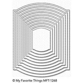 My Favorite Things Die-Namics, Elegant Rectangle STAX - 849923024300