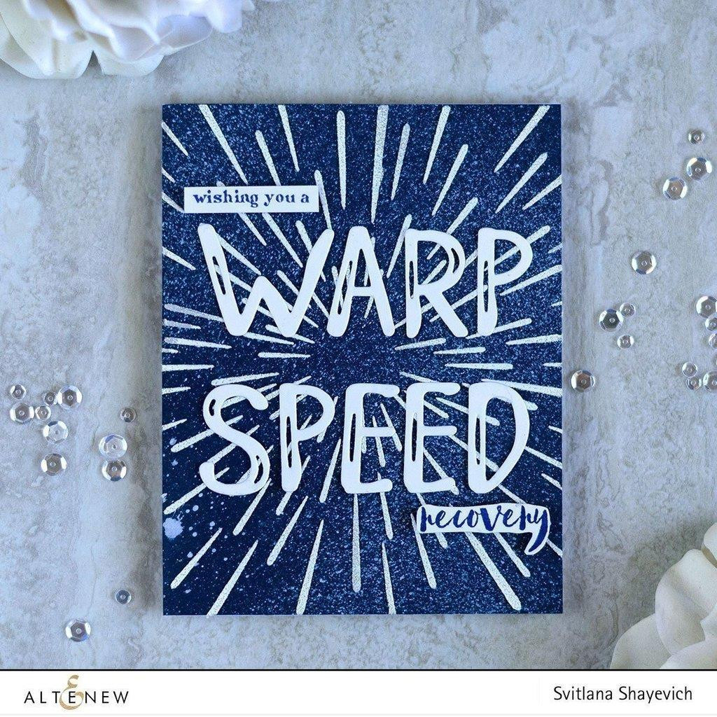 Altenew Stencils, Warp Speed - 655646167480