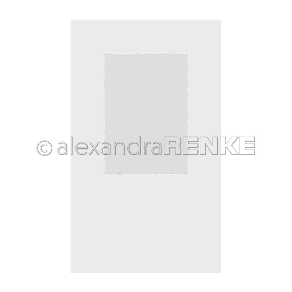 Deckle Edge Card, Alexandra Renke Embossing Folder - 4251412708800