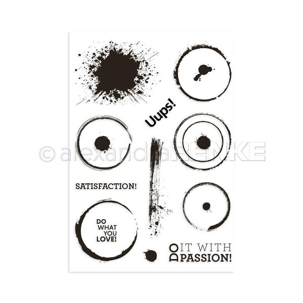 Alexandra Renke Clear Stamps, Satisfaction - 4251412714160