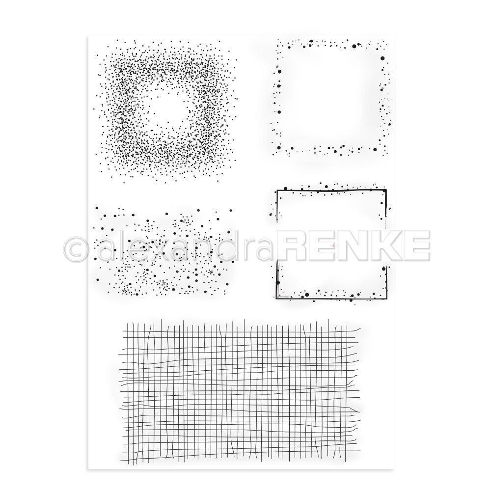 Alexandra Renke Clear Stamps, Accentuation Areas - 4251412712418