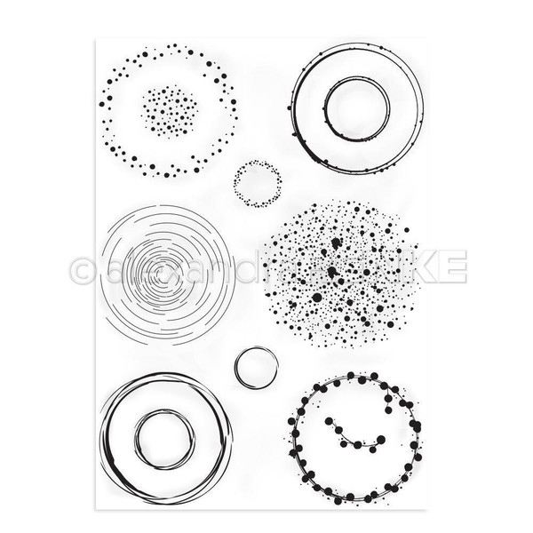 Accentuation Circles, Alexandra Renke Clear Stamps - 4251412712401