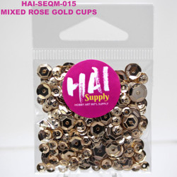 HAI Sequins, Rose Gold -